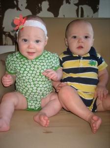 Ellisa and Hudson at 8 months