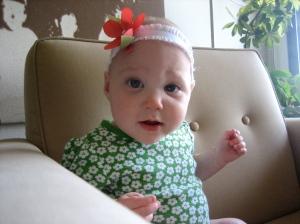 Ellisa at 8 months