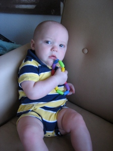 Hudson at 8 months