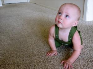 Hudson at 10 months old