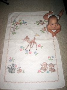 Charles' baby quilt