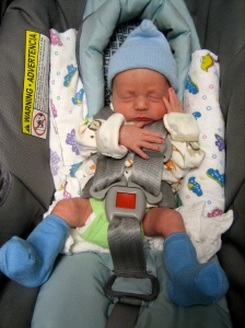 Hudson on his way home!