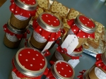 Peanut butter party favors