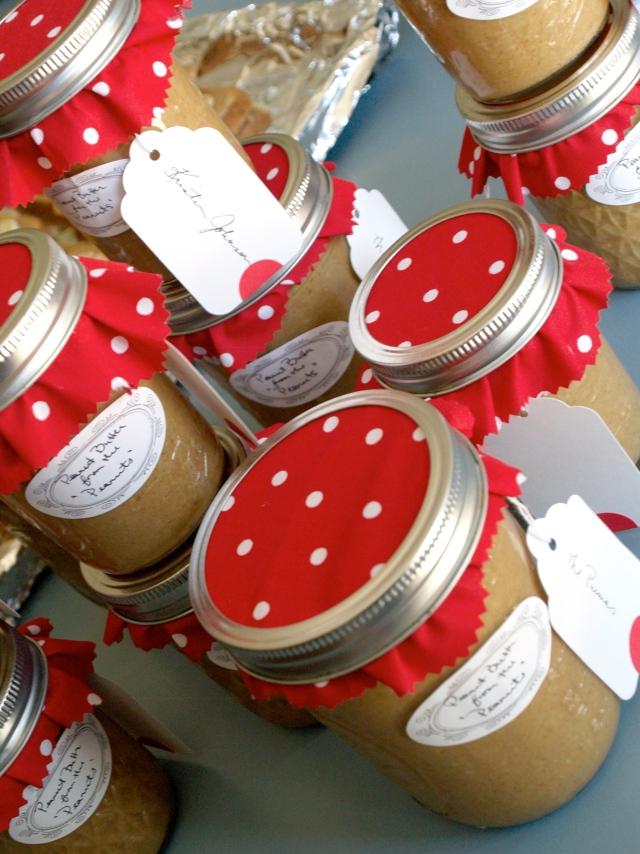 Peanut butter party favors
