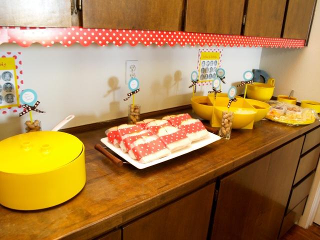 Food set-up