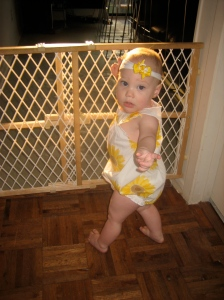 Ellisa at 12 months