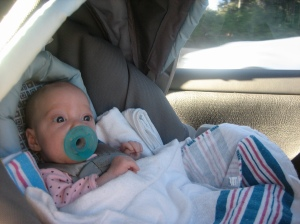 Ellisa on her way home!