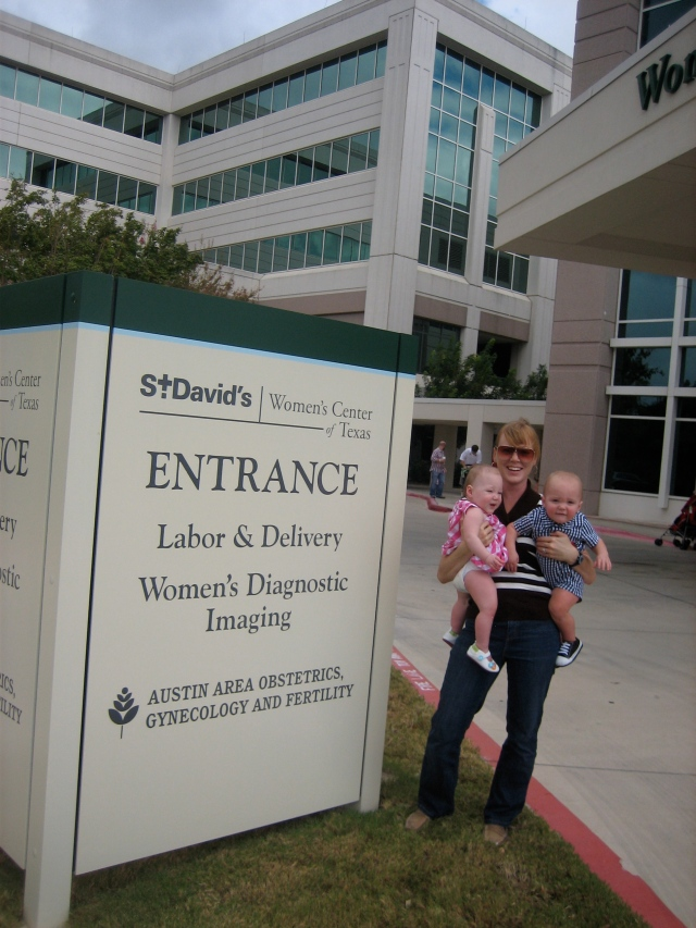 The entrance to NICU