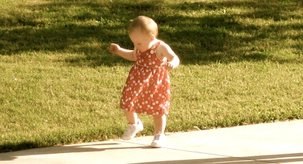 Ellisa Walking