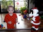 Ellisa and Santa