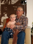 Grandpa Purma and Hudson