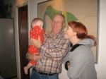 Grandpa Purma, Courtney, and Ellisa