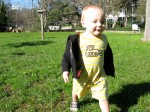 Hudson Running in the Park
