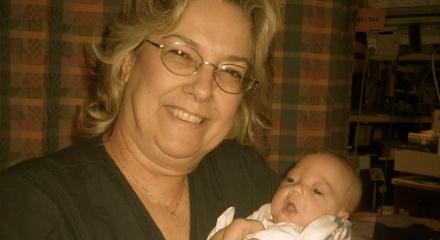 Ellisa with Nurse Vicky