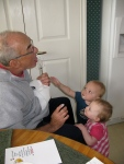 Grandpa Gets a Taste of Frosting