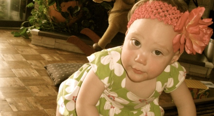 Ellisa at 17 Months