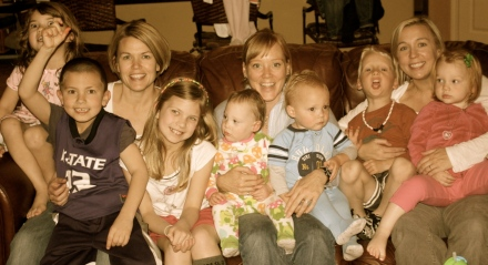 Shellie, Mackenzie, Jodi, and Our Kids