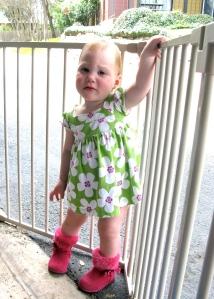 Ellisa's Modeling Pose