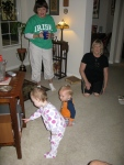 Great Aunt Jane and Nancy Dancing with the Peanuts