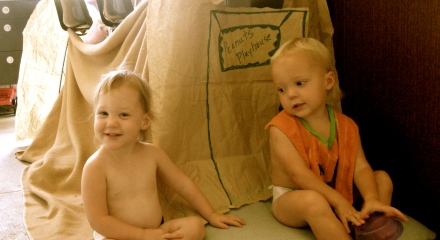 A Home-made Fort First
