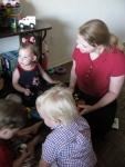 Rachel Rockin' with the Kids